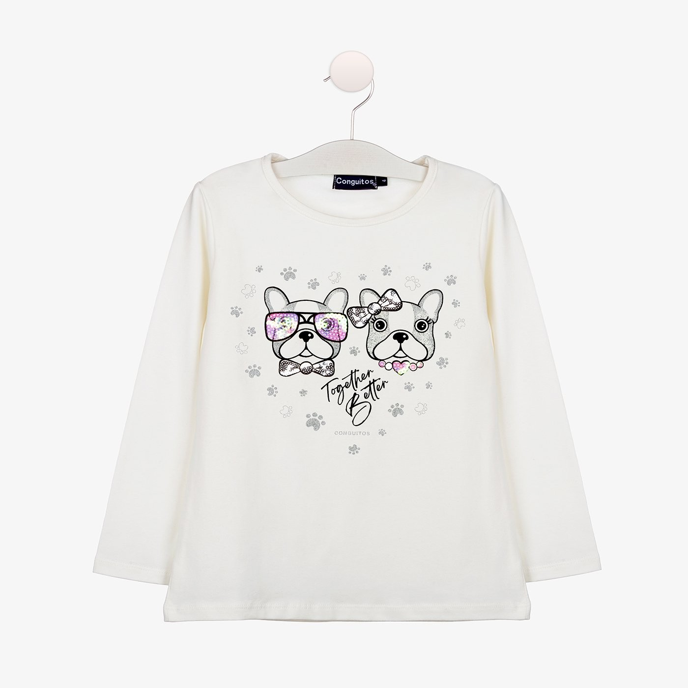 Camiseta Niña Perritos...