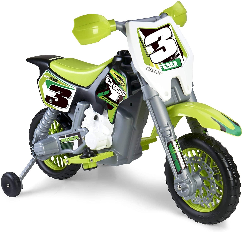 Moto Rider Cross 6V Feber